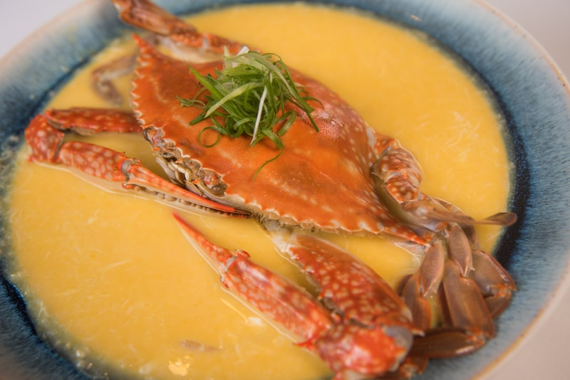 Crab Meat Pumpkin and Cheese Congee南瓜芝土水蟹粥Harbour Restaurant - The Harbourview - 灣景廳 - 灣景國際 OKiBook Hong Kong Restaurant Booking 4