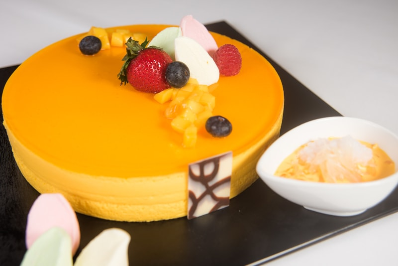 Pomelo, Mango and Sago Mousse Cake柚子芒果西米慕絲蛋糕 Harbour Restaurant - The Harbourview - 灣景廳 - 灣景國際 OKiBook Hong Kong Restaurant Booking 8