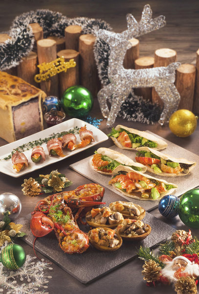 Cafe Aficionado Regal Airport 藝廊咖啡室 - 富豪機場酒店 Xmas Seafood Buffet - OKiBook Hong Kong Restaurant Booking
