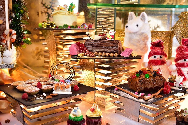 Cafe Rivoli Regal Hongkong 御花園咖啡室 - 富豪香港酒店 - Xmas buffet - OKiBook Hong Kong Restaurant Booking