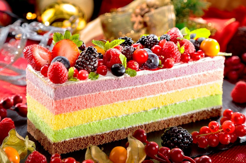 Centre Street Kitchen 中西∙環 - 港島太平洋酒店 Rainbow Cake - OKiBook Hong Kong Restaurant Booking