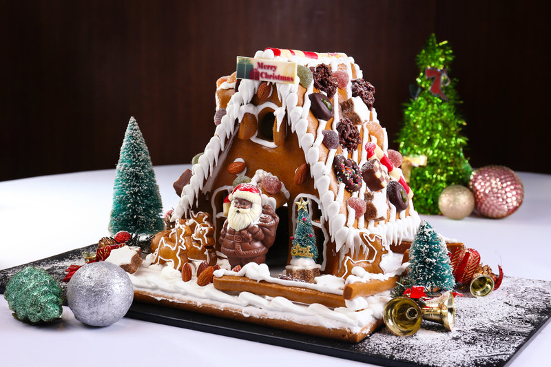 Ginger bread house Xmas 2017 Harbour Restaurant - The Harbourview - 灣景廳 - 灣景國際 OKiBook Hong Kong Restaurant Booking