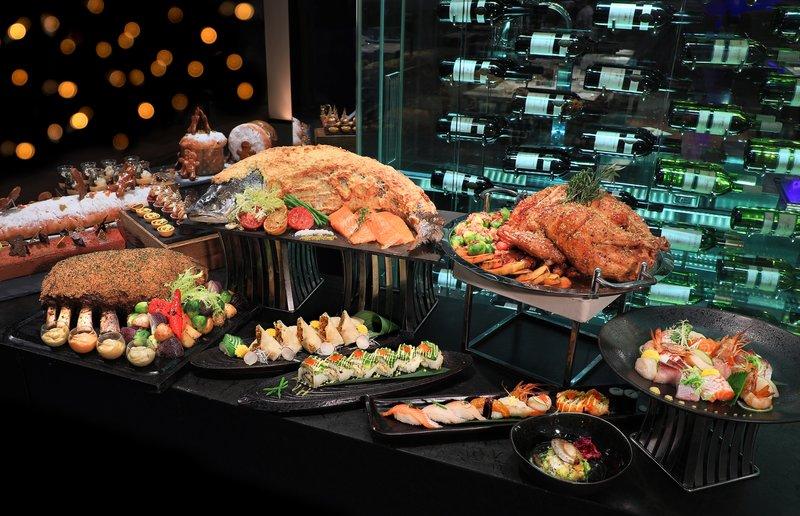 Yamm The Mira Hong Kong Xmas buffet dinner 2017- OKiBoook Hong Kong Restaurant Booking