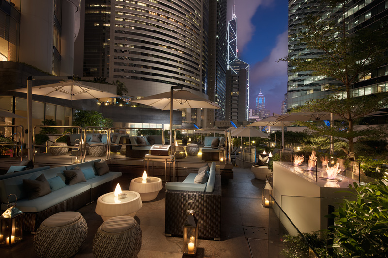 Garden Cafe Conrad Hong Kong New Year's Eve Countdown Party TERRACE - OKiBook Restaurant Booking