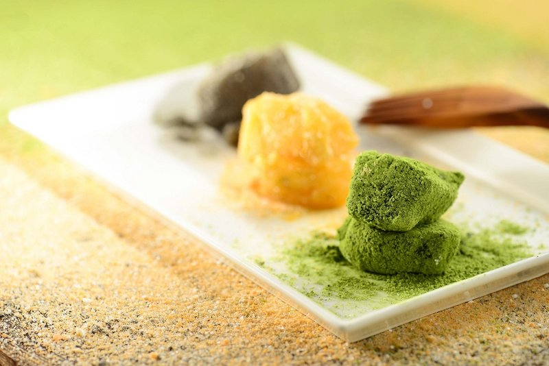 Cafe Rivoli Regal Hongkong 御花園咖啡室 - 富豪香港酒店warabimochi_matcha_brown_sugar_and_black_sesame OKiBook Restaurant Booking