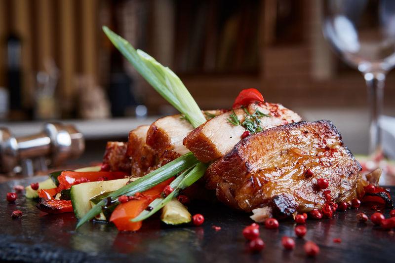 Centre Street Bar Island Pacific Hotel 港島太平洋酒店 - Italian Wine Dinner Iberico Pork - OKibook Hong Kong