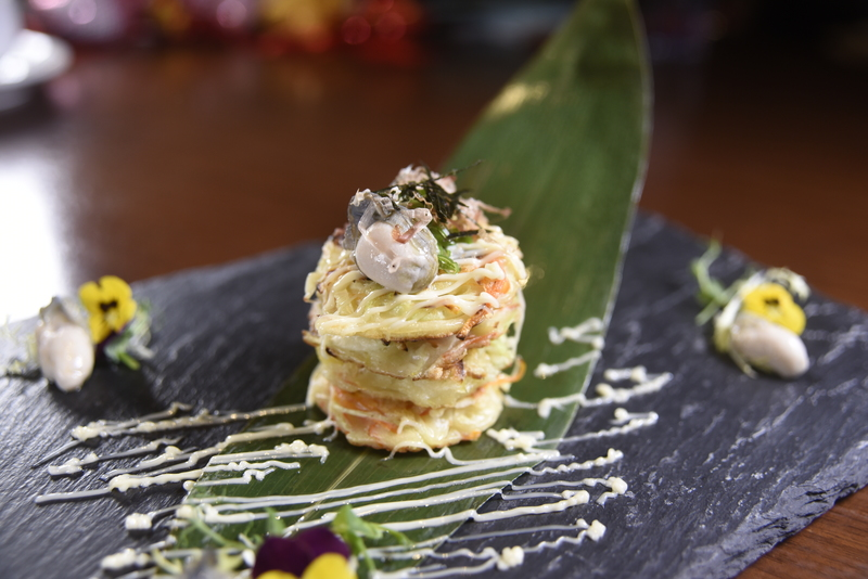 Oyster Okonomiyaki 日式鮮蠔燒餅_Harbour Restaurant - The Harbourview - 灣景廳 - 灣景國際 OKiBook Hong Kong Restaurant Booking 3