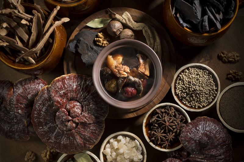 Grand Cafe Grand Hyatt Hong Kong 咖啡廳 香港君悅酒店 OKiBook Restaurant Booking - Beef Brisket and Tendon Stew, Ganoderma