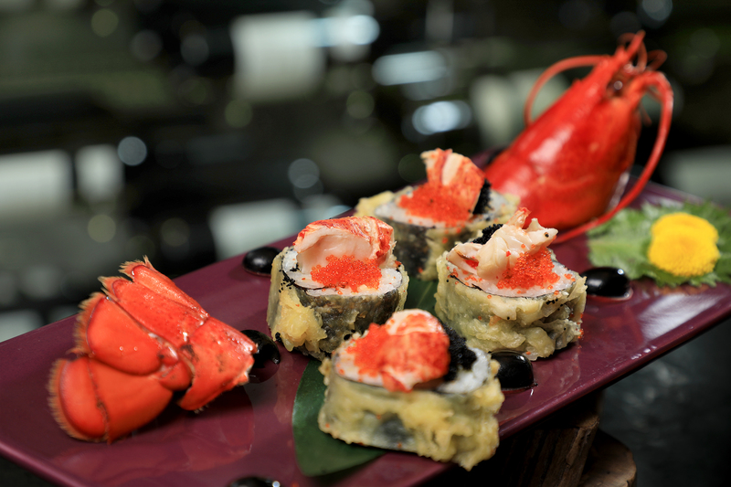 Yamm The Mira Hong Kong - OKiBook Restaurant Reservation - Lobster Buffet_Lobster Sushi Tempura