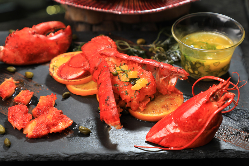 Yamm The Mira Hong Kong - OKiBook Restaurant Reservation - Lobster Buffet_Tandori Lobster Tails with Pistachio Butter