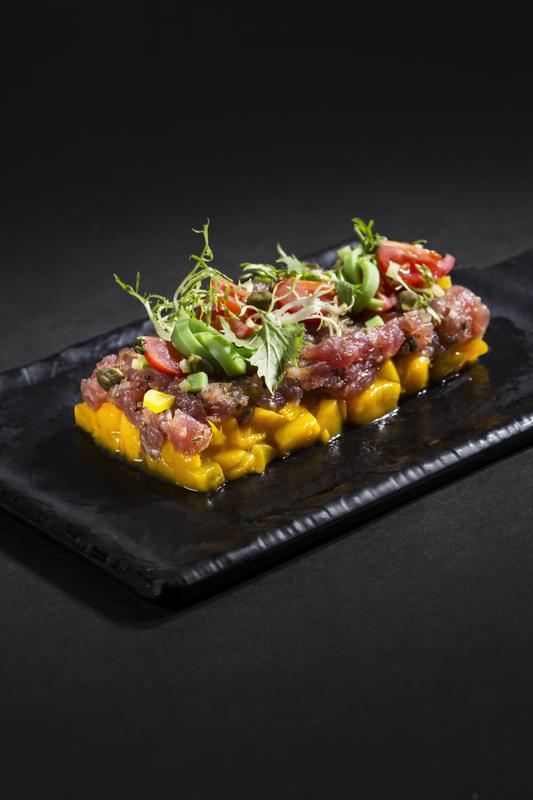 Café Express Hotel Panorama - 隆堡麗景酒店 - Seafood Fever - 吞拿魚芒果他他 - OKiBook Hong Kong Restaurant Buffet booking 自助餐預訂香港