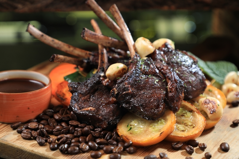 Yamm The Mira Hong Kong -Easter 復活節 - OKiBook Hong Kong Restaurant Buffet booking 自助餐預訂香港Coffee-marinated Lamb Chops
