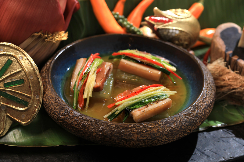 Yamm The Mira Hong Kong - OKiBook Hong Kong Restaurant Booking 自助餐預訂香 - Songkran Spread by Chef Danita_Braised Pork Belly with Winter Melon in Hot Pepper & Ginger