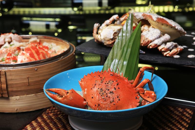 Yamm The Mira Hong Kong - OKiBook Hong Kong Restaurant Buffet booking 自助餐預訂香港 Crab Buffet_ Sizzling Wok-fried Singapore Pepper Crab