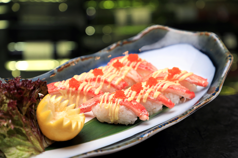 Yamm The Mira Hong Kong - OKiBook Hong Kong Restaurant Buffet booking 自助餐預訂香港 Crab Buffet_Matsuba Crab Sushi
