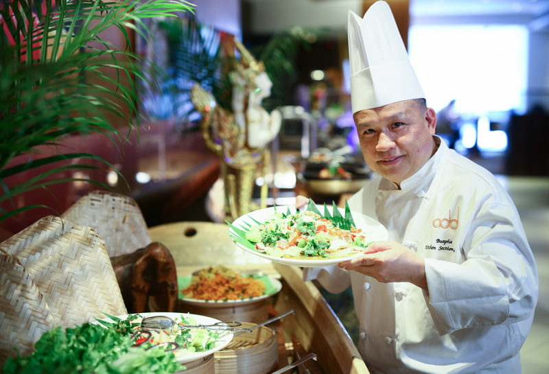addPrince Prince Hotel 太子酒店 OKiBook Hong Kong Restaurant Buffet Booking 自助餐預訂香 - addPrince 東南亞風味美饡 The Joy of Durian Afternoon Tea Buffet Chef Nontra-U