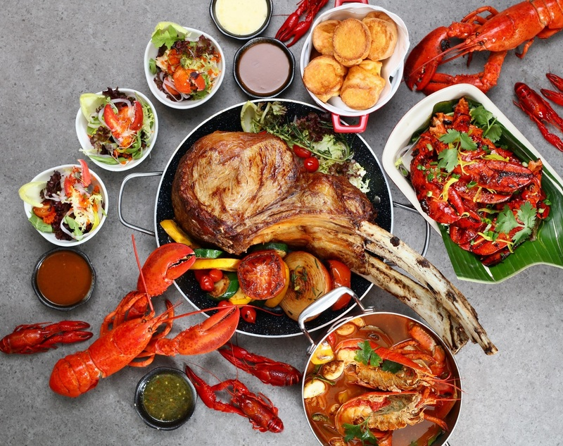Café Marco Marco Polo Hongkong Hotel 馬哥孛羅香港酒店- Lobster & Tomahawk Dinner Buffet- 2