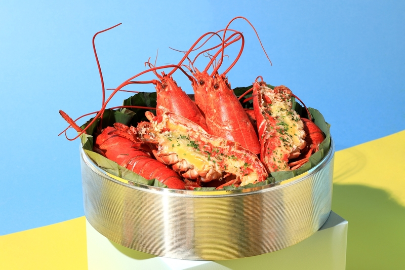Yamm The Mira Hong Kong - OKiBook Hong Kong Restaurant Buffet booking 自助餐預訂香港 - Summer Sunday Looongest Brunch_Steamed Lobster with Herbed Garlic Butter
