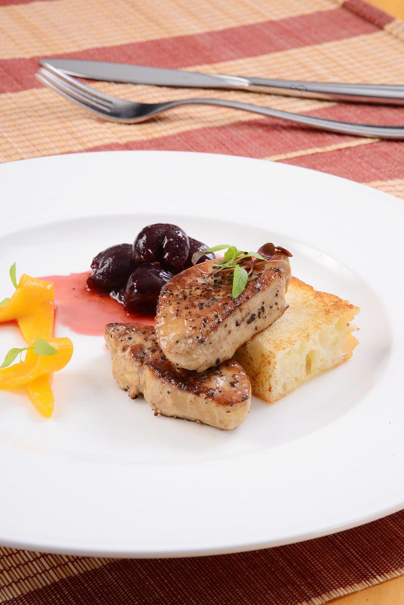Cafe Aficionado Regal Airport Hotel 藝廊咖啡室 - 富豪機場酒店 - OKiBook Hong Kong Restaurant Buffet booking 自助餐預訂香港 - Pan-fried Foie Gras