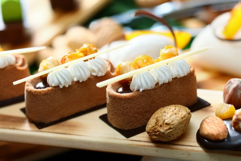 Café Marco Marco Polo Hongkong Hotel 馬哥孛羅香港酒店 - OKiBook Hong Kong Restaurant Booking 自助餐預訂香 - Hazelnut Milk Chocolate Crunchy Mousse 榛子牛奶朱古力慕絲JPG