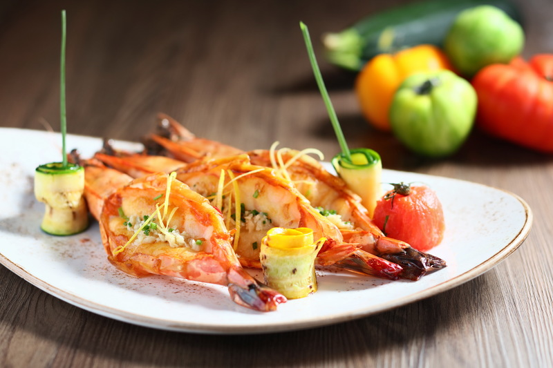 Cucina Marco Polo Hongkong Hotel 馬哥孛羅香港酒店 OKiBook Hong Kong Restaurant Booking 自助餐預訂香 - Grilled Jumbo Tiger Prawn 扒虎蝦JPG
