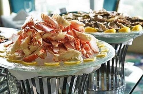 Alto 88 Regal Hongkong 富豪香港酒店 - OKiBook Hong Kong Restaurant and buffet Booking - Oyster and Bubble Brunch - Alaskan Crab Leg 阿拉斯加蟹腳