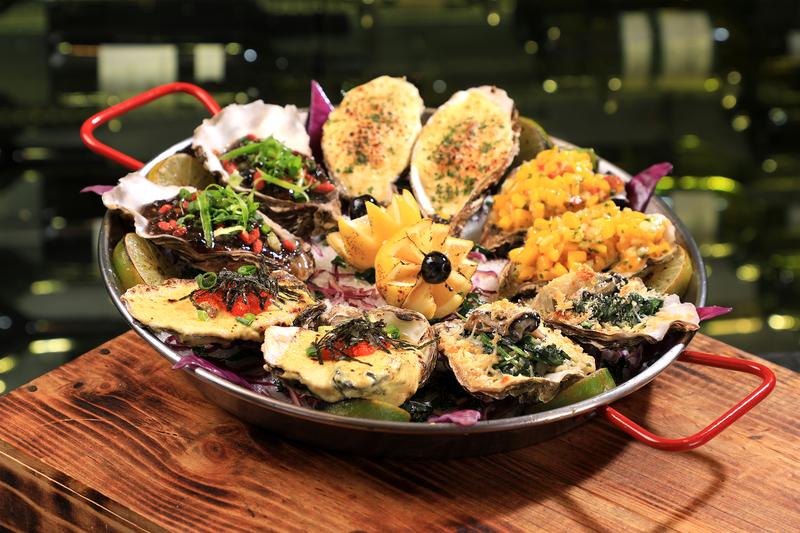 Yamm The Mira Hong Kong - OKiBook Hong Kong Restaurant Buffet booking 自助餐預訂香港 - Oyster Buffet_Cooked Oysters in 5 Styles_