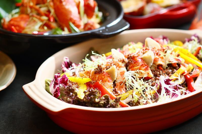 add@Prince - Prince Hotel 太子酒店 - OKiBook Hong Kong Restaurant Booking 自助餐預訂香 - Lobster Buffet 海龍盛宴自助晚餐 Lobster and Quinoa Salad with Artichoke