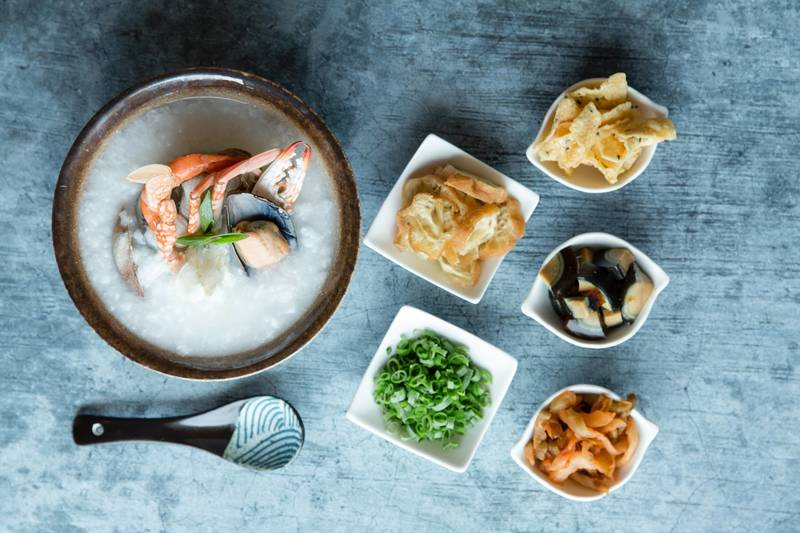 Centre Street Kitchen - Island Pacific - 中西∙環 - 港島太平洋酒店 - OKiBook OKiBook - Book Hong Kong best hotel buffets and restaurants 預訂香港最好的酒店自助餐和餐廳 -Cooked-to-order Seafood Porridge_Landscape
