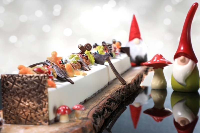 Yamm The Mira Hong Kong- OKiBook Hong Kong and Macau Restaurant Buffet booking 餐廳和自助餐預訂香港和澳門 - X'mas Dinner Buffet_Desserts_2 meter Kumamoto Chestnut Yule Log Cake_web1