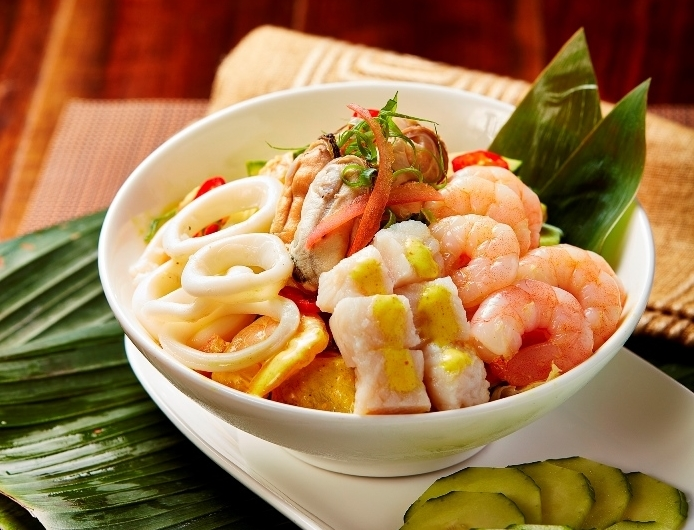 MENU - 豐膳 - E-Max - OKiBook Hong Kong and Macau Restaurant Buffet booking 餐廳和自助餐預訂香港和澳門 Franco-Viet Buffet - Seafood curry