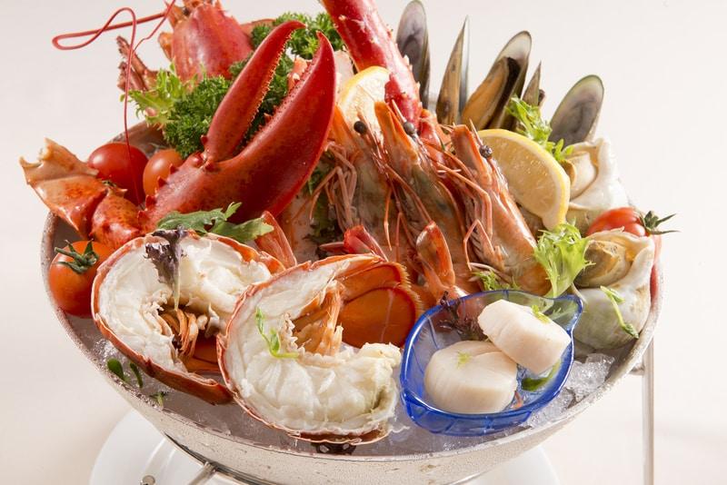 The China Coast Bar + Grill Regal Airport 華岸酒吧扒房 - 富豪機場酒店 - Cold Seafood Platter - OKiBook Hong Kong and Macau Restaurant Buffet booking 餐廳和自助餐預訂香港和澳門