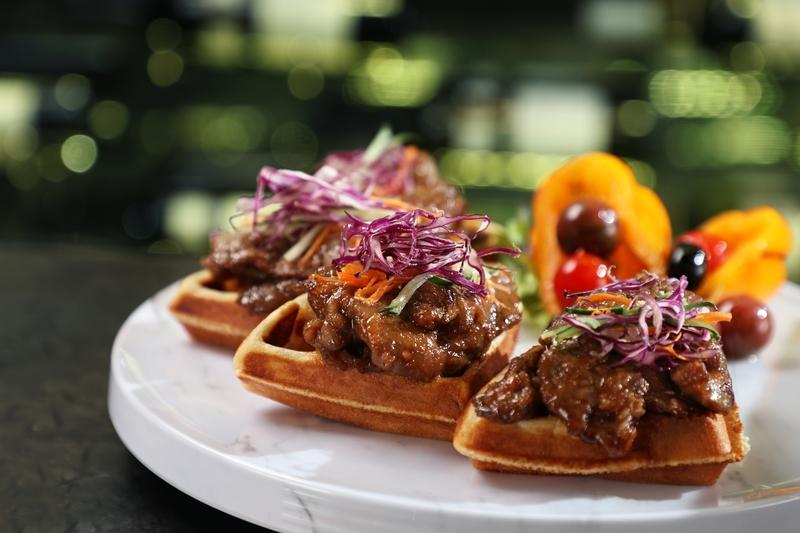 Yamm The Mira Hong Kong- OKiBook Hong Kong and Macau Restaurant Buffet booking 餐廳和自助餐預訂香港和澳門 - Beef Battle Buffet Beef Waffles