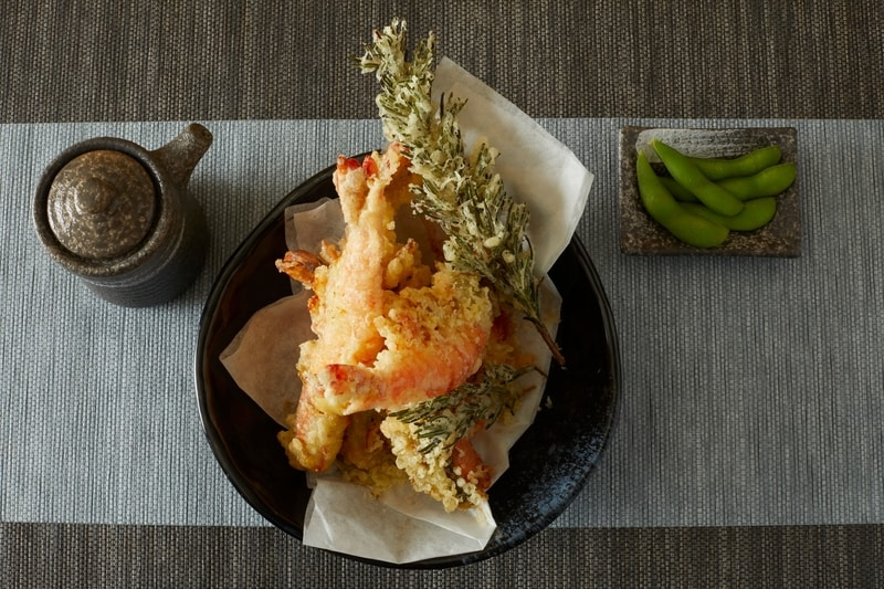 Bistro on the Mile 金域假日酒店 Holiday Inn Golden Mile - OKiBook Hong Kong Restaurant Booking 自助餐預訂香 - Jumbo Prawn tempura 炸珍寶蝦天婦羅
