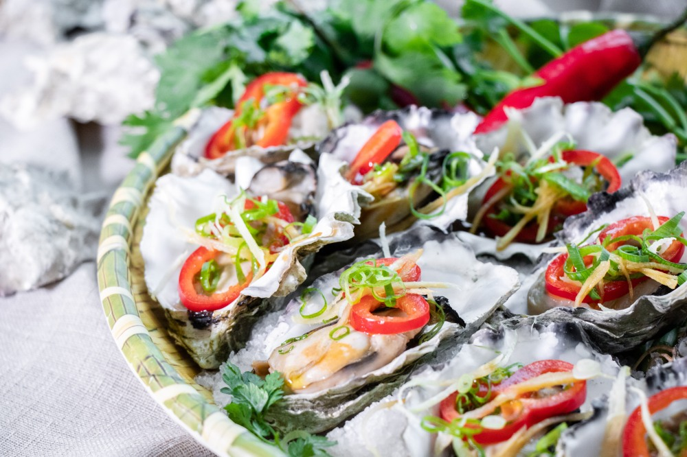 GREEN 唯港薈 Hotel ICON OKiBook Hong Kong and Macau Restaurant Buffet booking 餐廳和自助餐預訂香港和澳門 - Oyster Brunch3