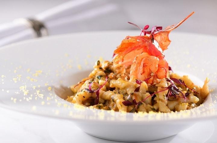 Alto 88 Regal Hongkong 富豪香港酒店 OKiBook Hong Kong and Macau Restaurant Buffet booking 餐廳和自助餐預訂香港和澳門 - 來自意大利南部西西里的鮮味 / South Italian Seafood - Sicilian Couscous with Red Snapper and Shellfish Mediterranean Vegetables