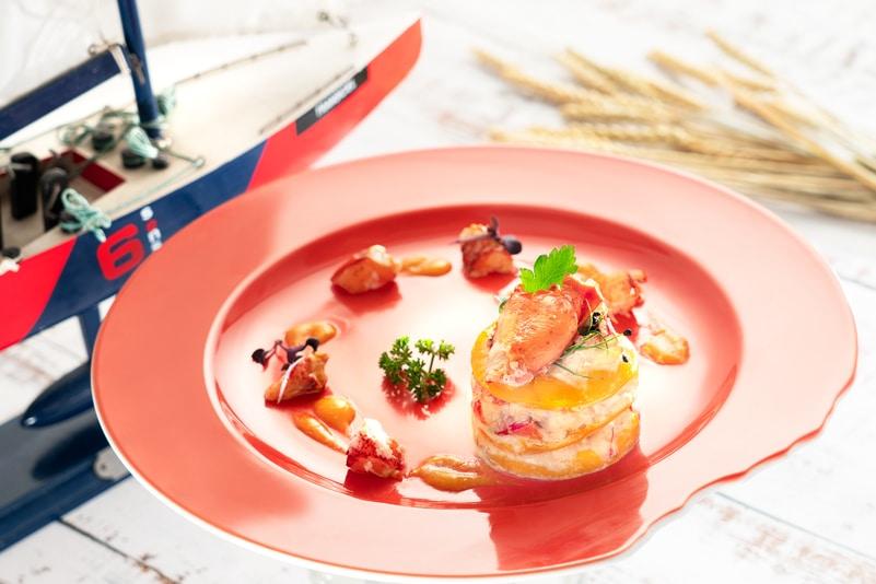 Cafe Aficionado 藝廊咖啡室 - 富豪機場酒店 - OKiBook Hong Kong and Macau Restaurant Buffet booking 餐廳和自助餐預訂香港和澳門 - Caribbean Summer Dinner Buffet - Cafe Aficionado - Lobster Salad with Mango Dressing