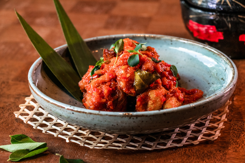 The Market Hotel ICON 唯港薈 - OKiBook Hong Kong and Macau Restaurant Buffet booking 餐廳和自助餐預訂香港和澳門 - Chicken in Spicy Tomato Sauce Ayam Masak Merah