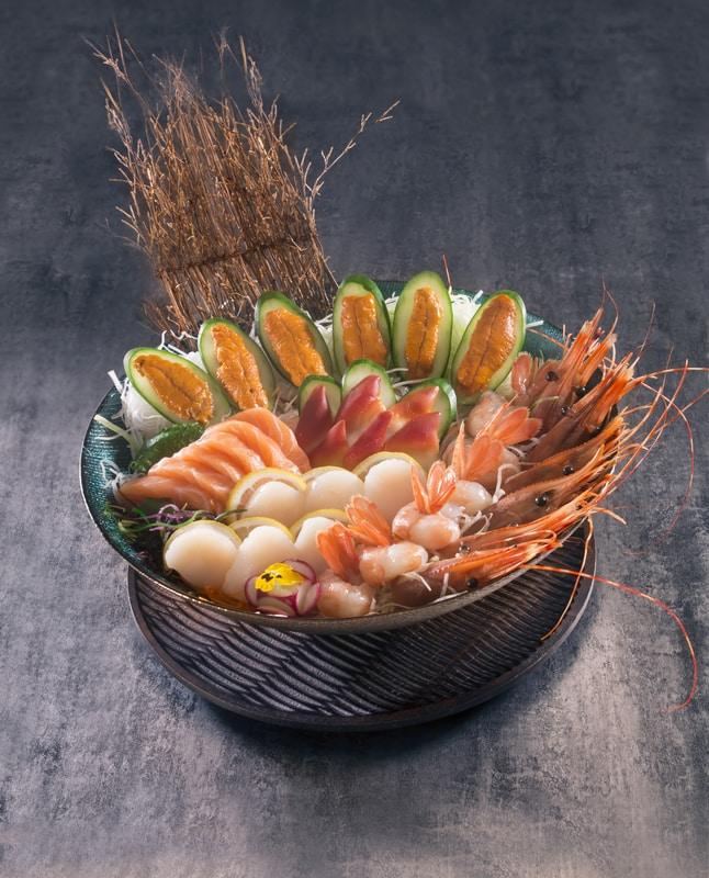 Beauty in The Pot- 美滋鍋 OKiBook Hong Kong and Macau Restaurant Buffet booking 餐廳和自助餐預訂香港和澳門 BAssorted Sashimi Platter 什錦刺身拼盤