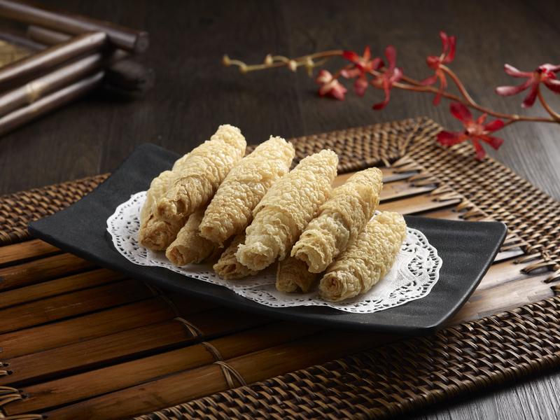 Beauty in The Pot- 美滋鍋 OKiBook Hong Kong and Macau Restaurant Buffet booking 餐廳和自助餐預訂香港和澳門 - 炸響鈴 Fried Beancurd Skin