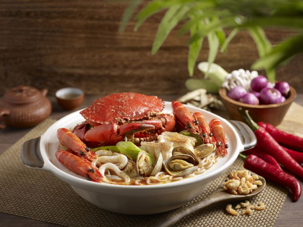 Paradise Classic 樂天經典 - OKiBook Hong Kong and Macau Restaurant Buffet booking 餐廳和自助餐預訂香港和澳門 - - 龍虎燴_香辣湯 Crouching Tiger, Hidden Dragon_Spicy Broth Seafood Pot