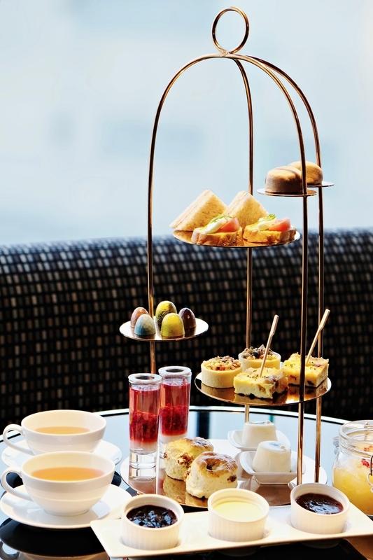 The Lounge - Hong Kong SkyCity Marriott Hotel_OKiBook Hong Kong and Macau Restaurant Buffet booking 餐廳和自助餐預訂香港和澳門 - 健康下午茶 / Guiltless Afternoon Tea