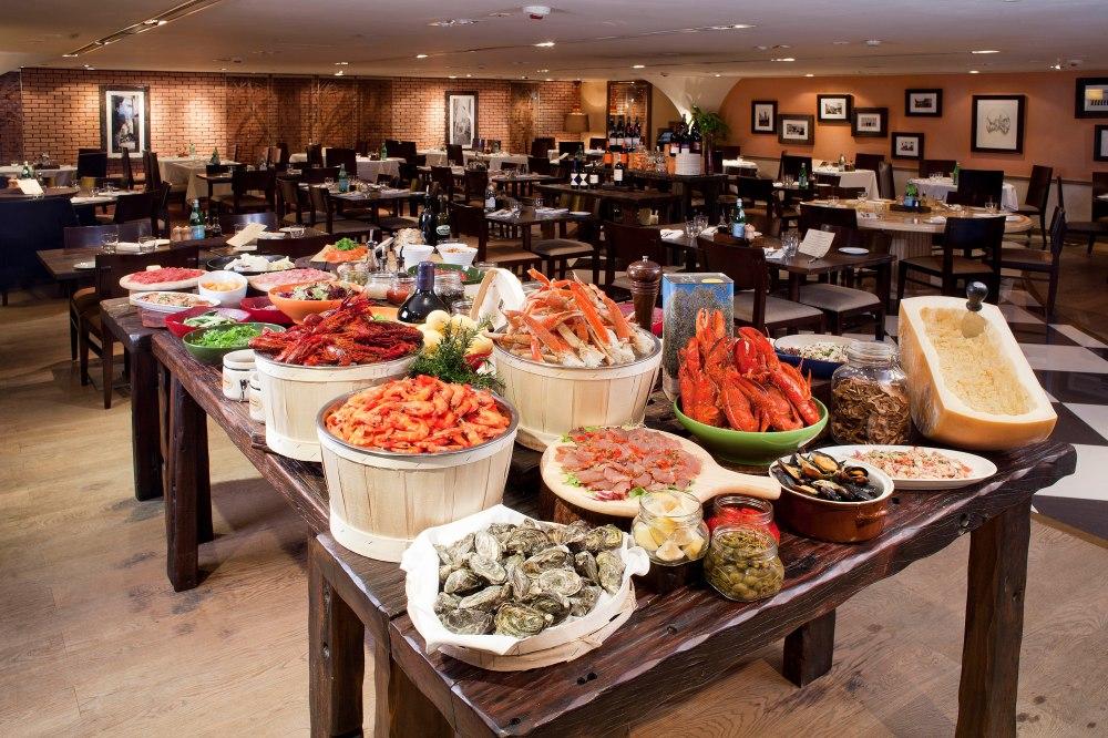 自助海鮮餐 / Semi-appetizer Buffet Set @ Osteria Ristorante Italiano - Holiday Inn Golden Mile OKiBook Hong Kong and Macau Restaurant Buffet booking 餐廳和自助餐預訂
