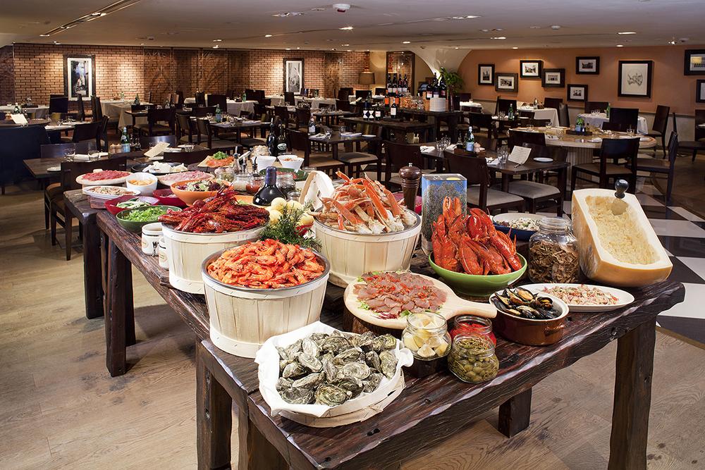 Resized Osteria 意大利餐廳半自助意大利海鮮晚餐Semi Appetizer Buffet