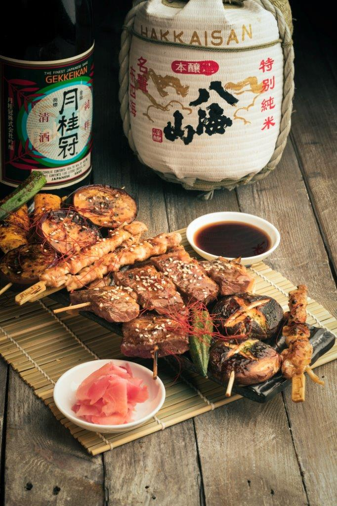 東瀛燒物自助午餐 / Sizzling Yakitori Lunch Buffet OKiBook Hong Kong and Macau Restaurant Buffet booking 餐廳和自助餐預訂