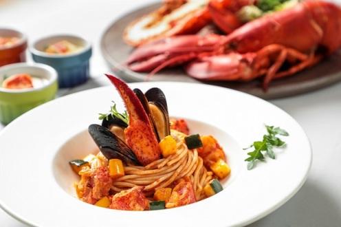 """Lobster and Fish Maw"" Seafood Dinner Buffet–_OKiBook Hong Kong and Macau Restaurant Buffet booking 餐廳和自助餐預訂_ LIS Café – L'hotel Island South"